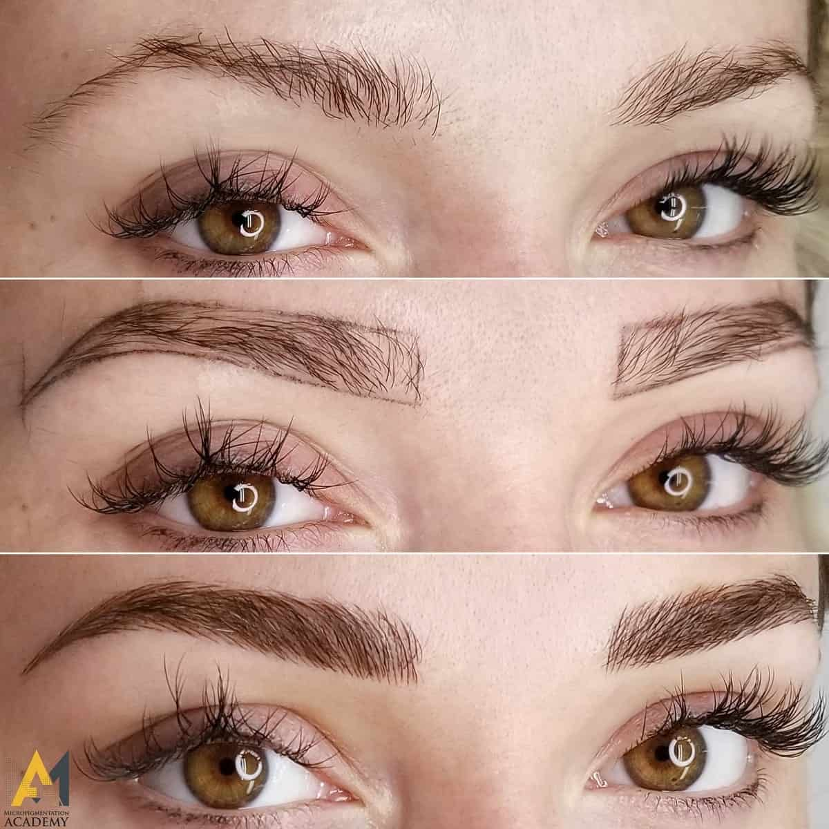 View Eyebrow Microblading Before And After Pictures Pictures