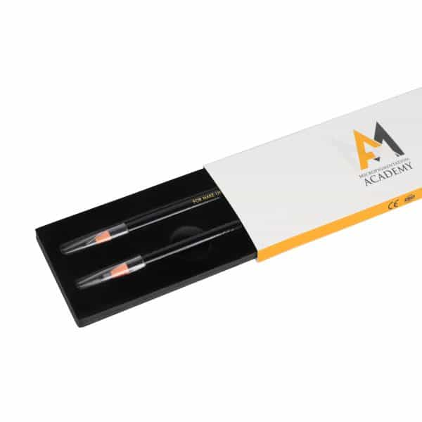 Black Microblading Eyebrow Pencil (2 Per Box)