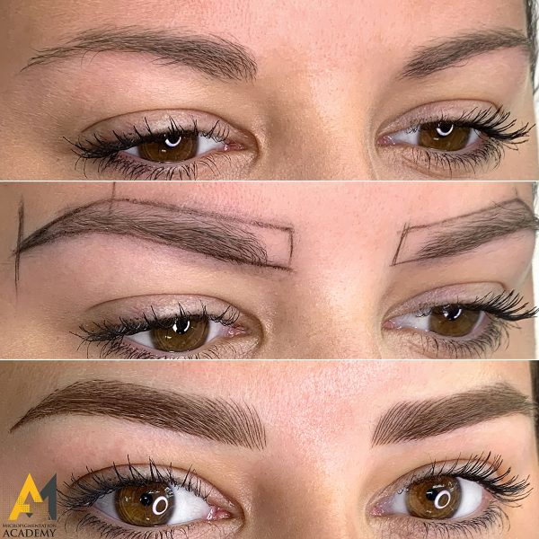 fusion eyebrow tattoo