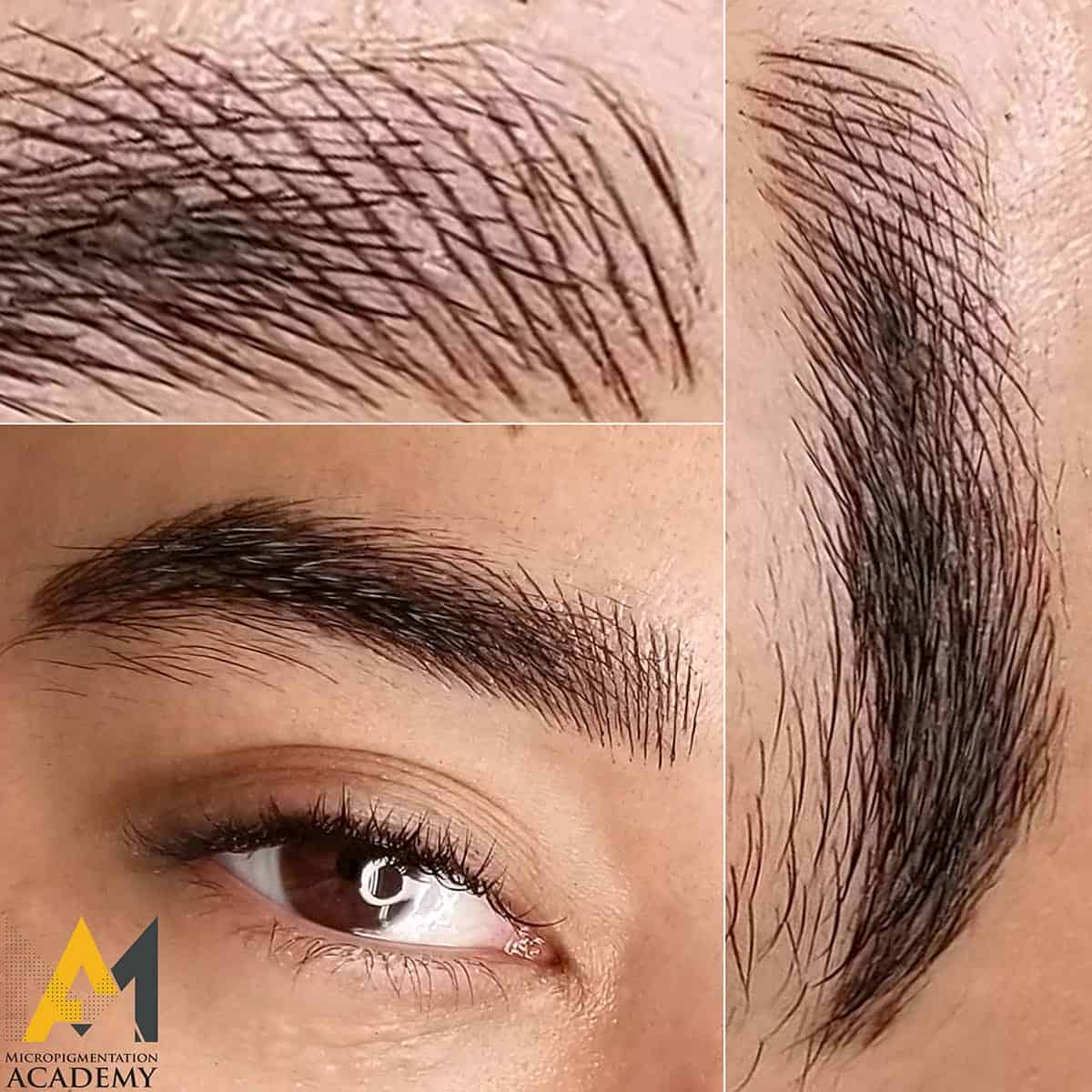 male brows treatment