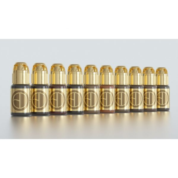 Brow Daddy Gold Collection – 10 Pigment  Set